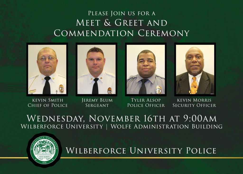 Meet & Greet and Commendation Ceremony