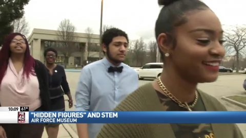 Cast member of Hidden Figures visits Dayton to promote STEM in young students