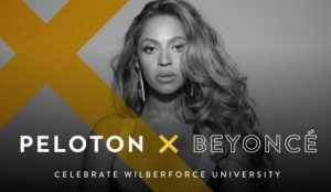 What Do Wilberforce, Beyonce and Mega Workout Equipment, High Energy Peloton Have in Common?