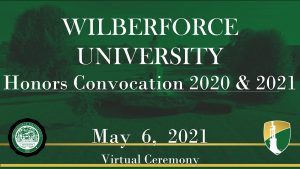 Wilberforce University Scholars